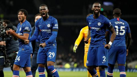 Chelsea win over Tottenham marred by alleged racial abuse of Rudiger