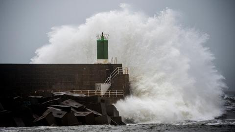 Death toll in Spain and Portugal from storm hits nine