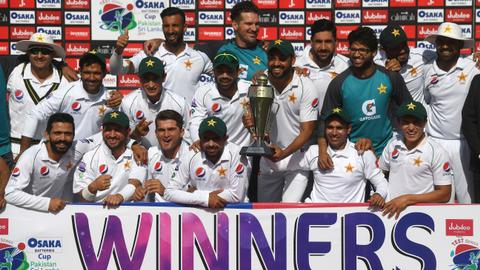 Pakistan thank Sri Lanka for Test cricket visit after militant attack
