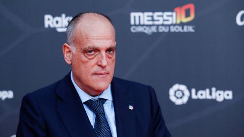 Tebas reelected La Liga president for third stint