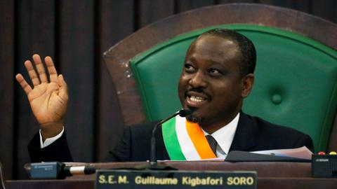 Ivory Coast issues arrest warrant for presidential candidate Soro