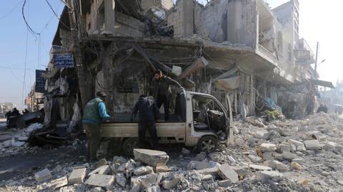 Regime air raids kill at least nine despite Idlib truce - war monitor