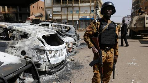 Thirty-five civilians killed after Burkina Faso army repels militant attack