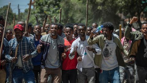 Why are mosques being targeted in Ethiopia?