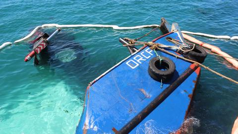 Ecuador says Galapagos fuel spill 'under control'