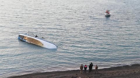 At least 7 killed as migrantboatsinks off eastern Turkey