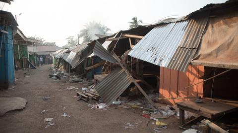Clashes in Central African Republic leave at least 35 Muslims dead