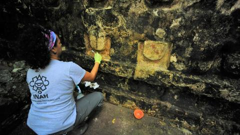 Ancient Mayan palace discovered in eastern Mexico