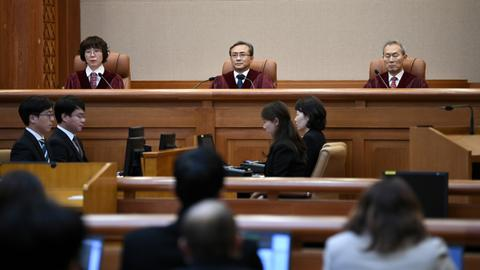 South Korea court dismisses case on Japan wartime sex slaves