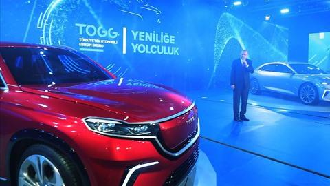 Turkey's domestic car is a symbol of a new era for the Turkish economy