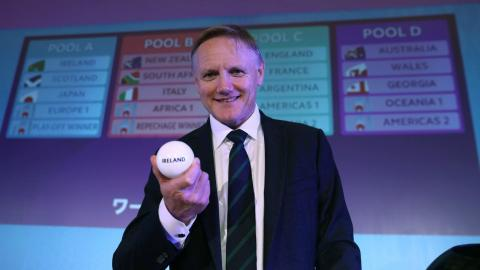 Rugby World Cup draw in Japan announced