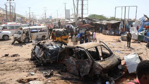 Truck bomb kills dozens in Mogadishu, including Turkish citizens