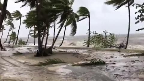 Nearly 2,000 evacuated, one missing as cyclone hammers Fiji