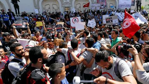 Tunisia muzzling opposition to bill for amnesty of corrupt
