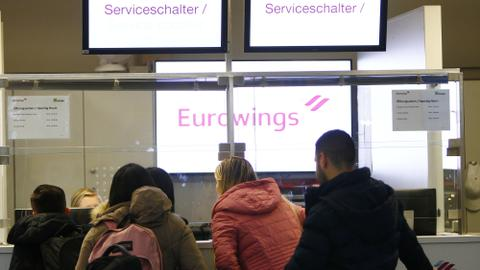 Germany's Eurowings cancels over 150 flights amid strikes