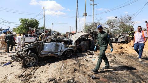Al Shabab militants claim huge Mogadishu bomb attack