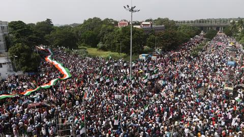 As protests continue in India, victims of police violence speak up