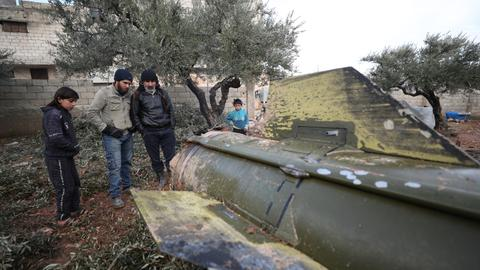 Regime missiles in Syria's Idlib kill eight in school turned shelter