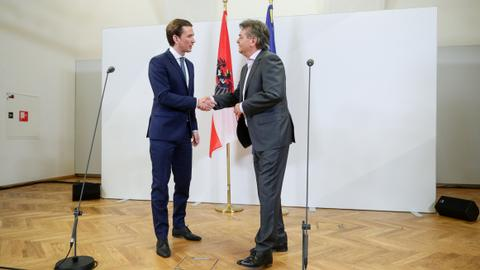 Austria's conservatives, Greens agree to form government