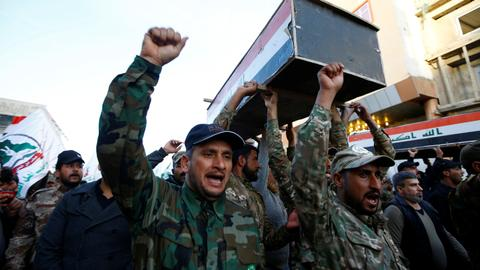 Who are Iran-backed militia Kataib Hezbollah in Iraq?