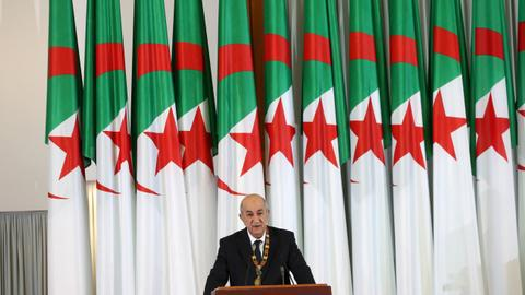 Algeria's presidency unveils new government