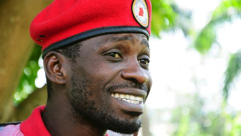 Uganda police detain Bobi Wine, foil meeting with supporters