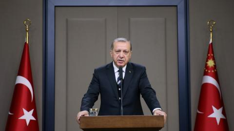 Erdogan says Turkey hopes to resolve issues with US