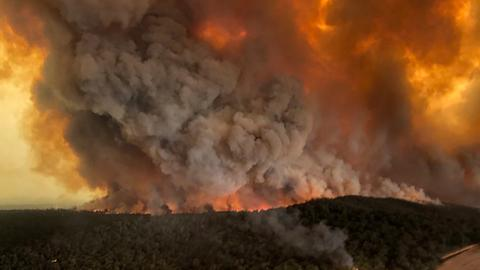 Firestorms: How Australia's bushfires created their own weather system