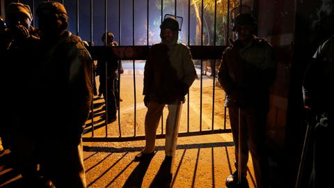 Were Indian police complicit in assault on JNU students?