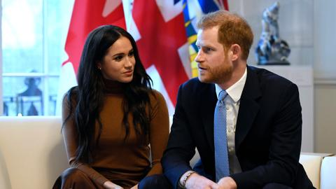 Prince Harry and Meghan to step back as 'senior' royals
