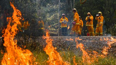 Australia bushfires flare as heatwave piles more misery