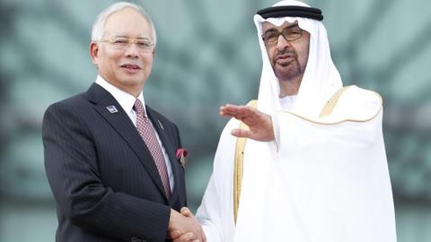 The UAE linked directly to Malaysia's massive corruption scandal