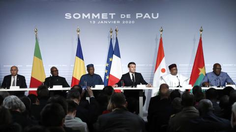 France, West Africa nations vow to step up anti-militant fight