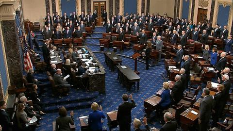Historic Trump impeachment trial begins in US Senate