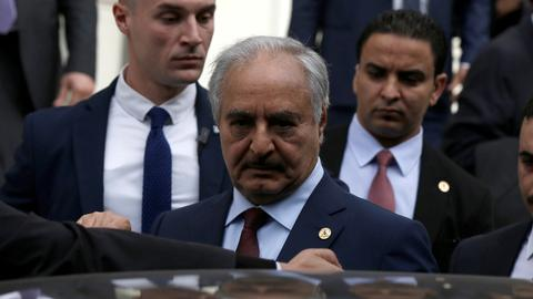 Libya's Haftar sued in US for alleged war crimes