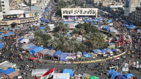 Two Iraqi protesters killed in Baghdad clashes