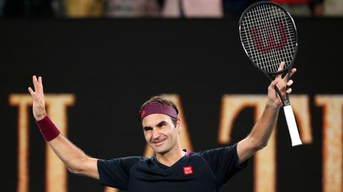 'Old school work ethic' pays off for immaculate Federer at #AusOpen
