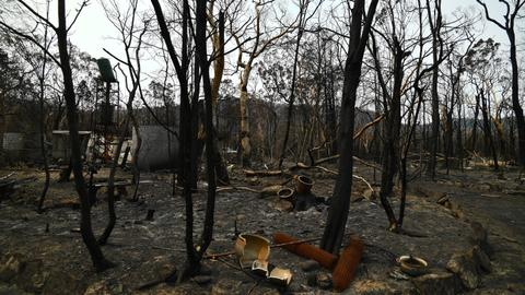Australian budget surplus in doubt as bushfire funding boosted