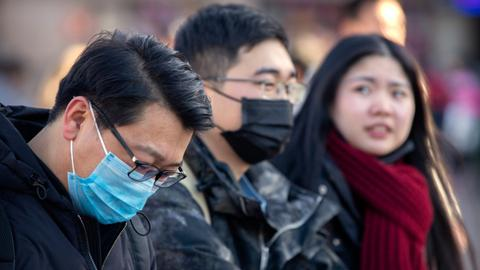 China coronavirus claims sixth victim as more screenings added