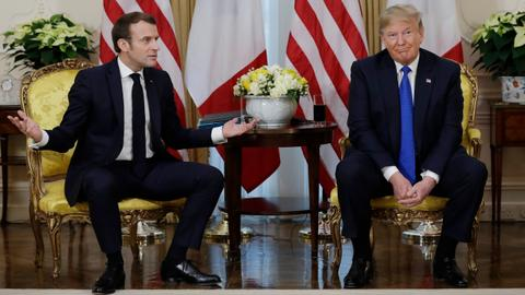 Macron and Trump declare truce in digital tax dispute