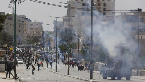 Israeli troops use force to disrupt Nakba Day rallies