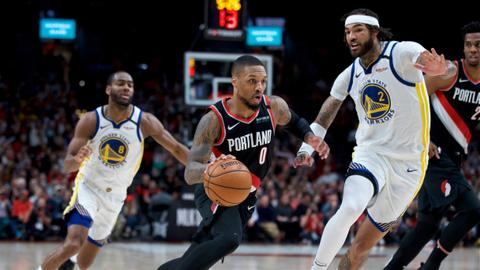 Lillard scores 61 as Blazers beat Warriors 129–124 in overtime