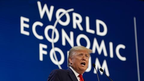 Trump rejects climate doomsayers as Thunberg slams Davos elites