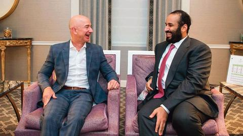 Jeff Bezos' phone 'hacked by Saudi crown prince'