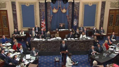 Dems appeal for GOP open minds as impeachment arguments open
