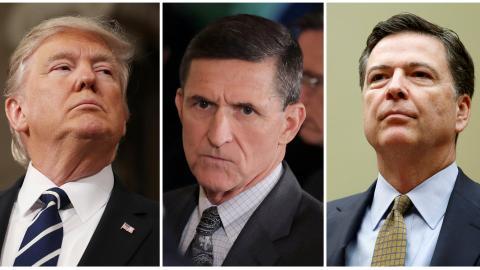 Reports of Trump interfering in FBI's Flynn-Russia probe spark fury