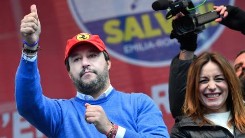 Salvini eyes return to power at key regional election