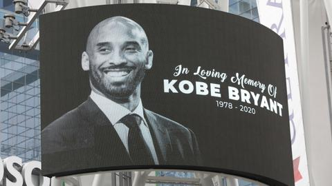 Reaction to the death of former NBA player Kobe Bryant