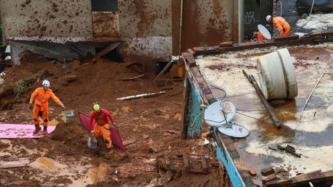 Death toll from Brazilian rainstorms rises to 53 - officials
