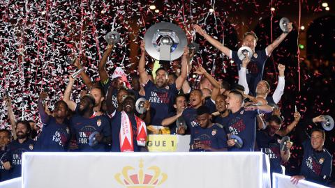 Monaco end 17 years of drought to win French football league